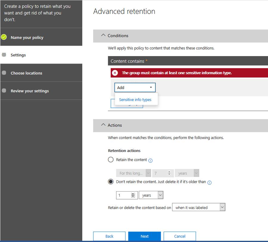 GDPR: how to automatically delete sensitive content - Erjen Rijnders